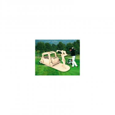 Сборная модель Мир деревянных игрушек Игрок в гольф Фото