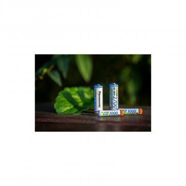 Аккумулятор Panasonic High Capacity AAA 1000 mAh NI-MH * 2 (BK-4HGAE/2BE) - фото 3