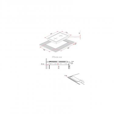 Варочная поверхность Perfelli HGM 312 I Фото 9