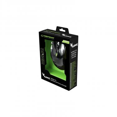 Мышка Esperanza MX401 Hawk black-green Фото 4