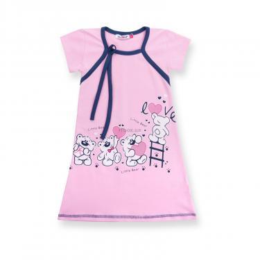 """Пижама Matilda и халат с мишками """"Love"""" (7445-134G-pink) - фото 3"""