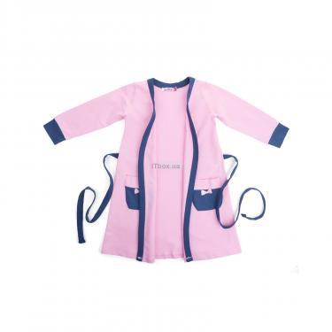 """Пижама Matilda и халат с мишками """"Love"""" (7445-134G-pink) - фото 4"""