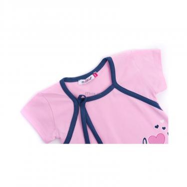"""Пижама Matilda и халат с мишками """"Love"""" (7445-134G-pink) - фото 6"""