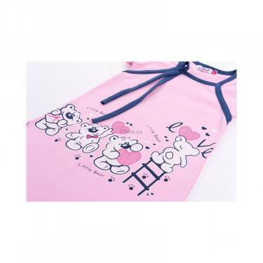 """Пижама Matilda и халат с мишками """"Love"""" (7445-134G-pink) - фото 8"""