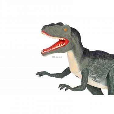 Интерактивная игрушка Same Toy Динозавр Dinosaur Planet серый со светом и звуком Фото 2