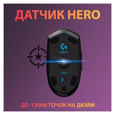 Мышка Logitech G305 Lightspeed Black Фото 1