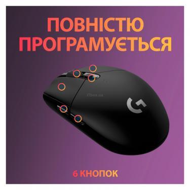 Мышка Logitech G305 Lightspeed Black Фото 5