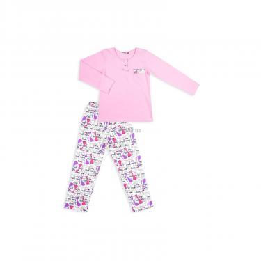 Пижама Matilda с котиками (4158-152G-pink) - фото 1
