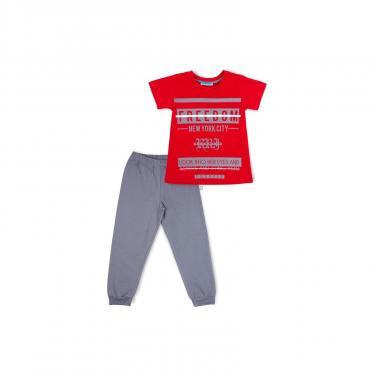 "Пижама Matilda ""FREEDOM"" (7742-176B-red) - фото 1"