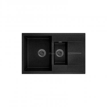 Мойка кухонная Minola MPG 75360-77 Антрацит (металлик) Фото