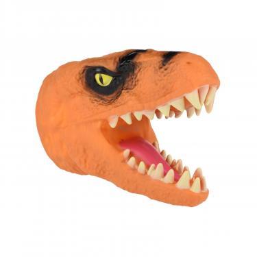 Игровой набор Same Toy Игрушка-перчатка Dino Animal Gloves Toys оранжевый Фото 1