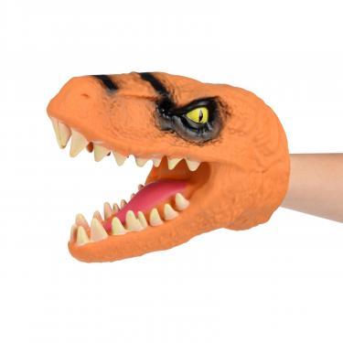 Игровой набор Same Toy Игрушка-перчатка Dino Animal Gloves Toys оранжевый Фото 2
