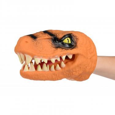 Игровой набор Same Toy Игрушка-перчатка Dino Animal Gloves Toys оранжевый Фото 3