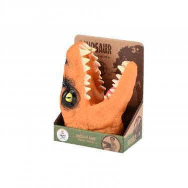 Игровой набор Same Toy Игрушка-перчатка Dino Animal Gloves Toys оранжевый Фото