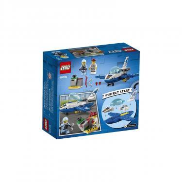 Конструктор LEGO City Воздушная полиция: патрульный самолёт 54 детали (60206) - фото 10