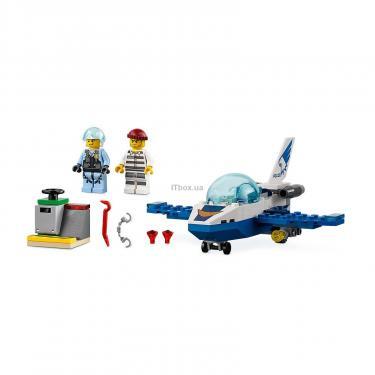Конструктор LEGO City Воздушная полиция: патрульный самолёт 54 детали (60206) - фото 3