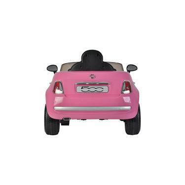 Электромобиль BabyHit Fiat Z651R Pink (71142) - фото 3