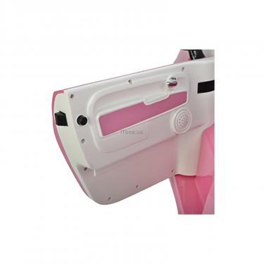 Электромобиль BabyHit Fiat Z651R Pink (71142) - фото 5