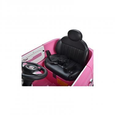 Электромобиль BabyHit Fiat Z651R Pink (71142) - фото 7