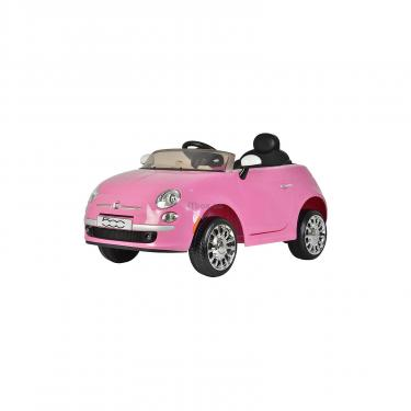 Электромобиль BabyHit Fiat Z651R Pink (71142) - фото 1