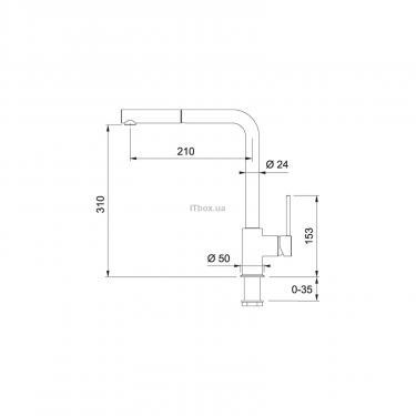 Кухонный смеситель Franke Sirius (115.0476.826) - фото 2