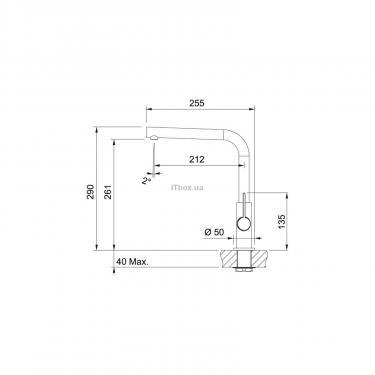 Кухонный смеситель Franke Neptune Evo (115.0373.930) - фото 2