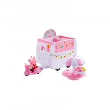 Игровой набор Peppa Фургончик с мороженым Фото
