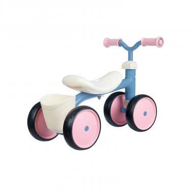 Беговел Smoby металлический, четырехколесный Розовый (721401) - фото 2