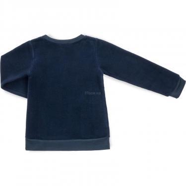 """Пижама Matilda флисовая """"FOOTBALL ACADEMY"""" (7536-3-134B-blue) - фото 5"""