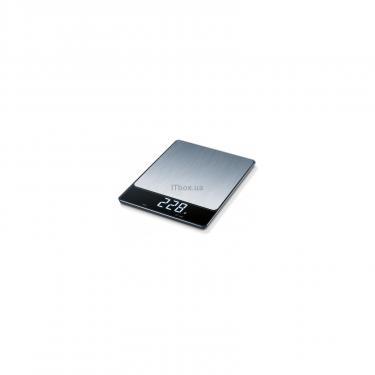 Весы кухонные BEURER KS 34 Stainless Steel (4211125703127) - фото 1