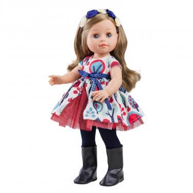 Кукла Paola Reina Эмма с цветами 40 см Фото