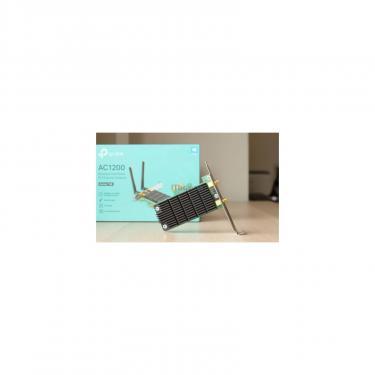 Ретранслятор TP-Link Archer T4E AC1200, PCI Express, Beamforming (ARCHER-T4E) - фото 9