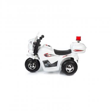 Электромобиль BabyHit Little Biker White (71630) - фото 2