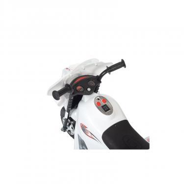 Электромобиль BabyHit Little Biker White (71630) - фото 3