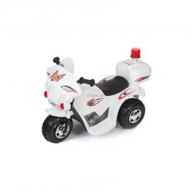Электромобиль BabyHit Little Biker White (71630) - фото 1