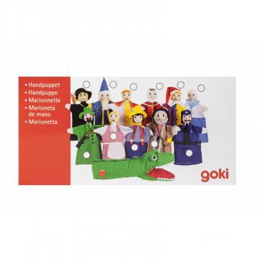 Игровой набор Goki Кукла-перчатка Корокодил Фото 4
