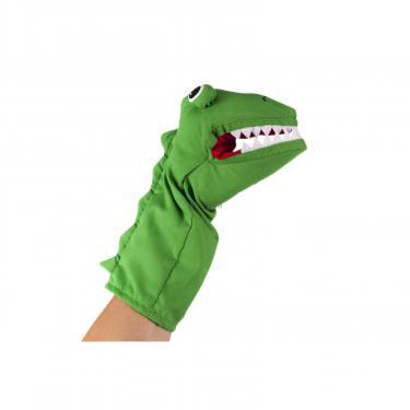 Игровой набор Goki Кукла-перчатка Корокодил Фото