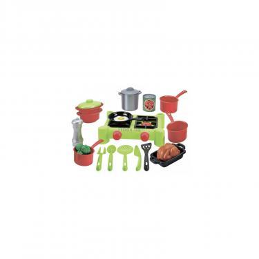 Игровой набор Ecoiffier Плита и посуда, 21 аксес Фото