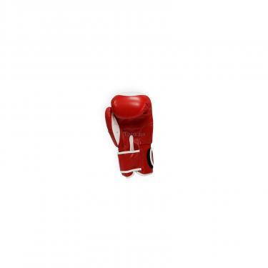 Боксерские перчатки THOR Competition 10oz Red/White (500/01(Leath) RED/WHITE 10 oz.) - фото 3