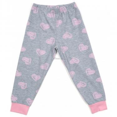 Пижама Matilda с сердечками (12101-2-92G-pink) - фото 3