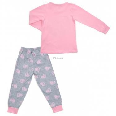 Пижама Matilda с сердечками (12101-2-92G-pink) - фото 4