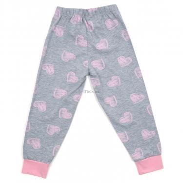 Пижама Matilda с сердечками (12101-3-164G-pink) - фото 6