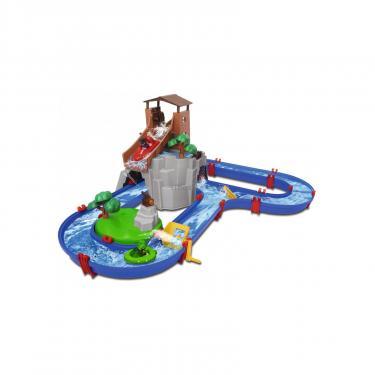 Игровой набор AquaPlay Приключения в горах с горкой и тоннелем 2 фигурки Фото