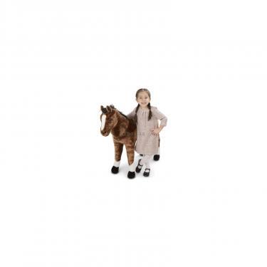 Мягкая игрушка Melissa&Doug Гигантская плюшевый конь,100 см Фото 1