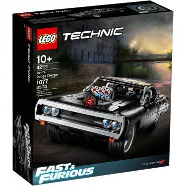 Конструктор LEGO Technic Dodge Charger Доминика Торетто 1077 детале Фото
