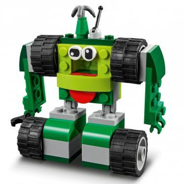 Конструктор LEGO Classic Кубики и колеса Фото 10