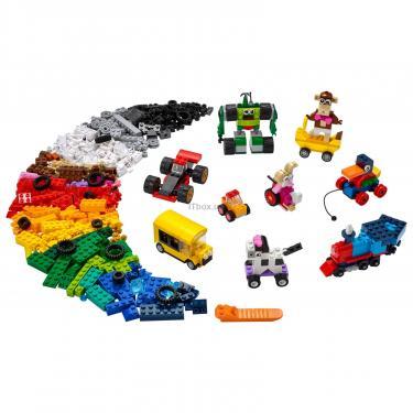 Конструктор LEGO Classic Кубики и колеса Фото 1