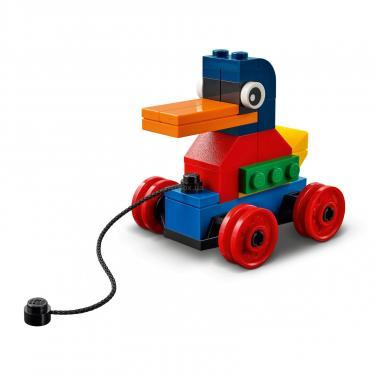 Конструктор LEGO Classic Кубики и колеса Фото 7