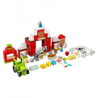 Конструктор LEGO Duplo Фермерский трактор, домик и животные Фото 1