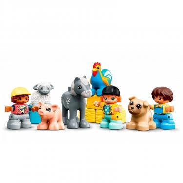Конструктор LEGO Duplo Фермерский трактор, домик и животные Фото 2